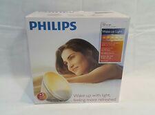 Philips HF3520 Wake-Up Light Coloured Sunrise Simulation, White. NEW** OPEN BOX