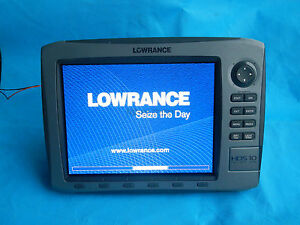 Lowrance HDS-10 Gen1 HDS10 GPS Fishfinder sonar (HDS-10 head only,no any parts)