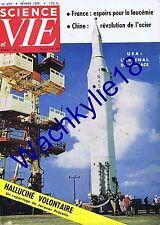 Science et vie n°497 02/1959 Fusées Tunnel Mont-Blanc Champignons hallucinogènes