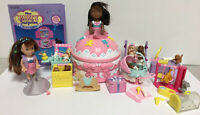 VTG Miss Party Surprise # 33349 Doll BABY PARTY Play set Complete + Toy Biz L