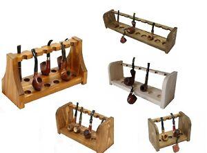 Espositore portapipe da tavolo vari tipi e tonalità pipa meerschaum bang magnum