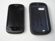 ZTE Valet Z665C - 4GB - Black (TracFone) Smartphone With Premium Case and Sim