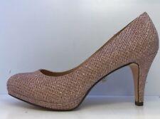 Roland Cartier Mujer Rosa Diamente detalle Bolla Platform Court Shoes Reino Unido 6
