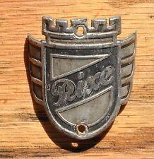 Oldtimer Fahrrad Emblem Steuerkopfschild  RIXE ORIGINAL