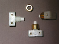 1 un interrupteur poussoir écrou OR lampe jumo art déco chevet lampe lustre