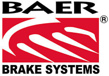 Baer Holdings Brake Rotors Cross-Drilled Slotted Iron Zinc Front Chevy Corvette