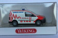 Wiking  1:87  VW Caddy 3  2K  Ambulance NEF Österreich