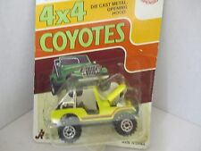 4 x 4 Coyotes - 1986 Road Champs - Jeep - Die cast metal - Opening Hood