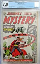 JOURNEY INTO MYSTERY #83 (1ST APP OF THOR) 1962 HOLY GRAIL CGC 7.0 HIGH GRADE!!!