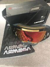 100% Armega Falcon5 MX Goggle New But Damaged Box *See Description