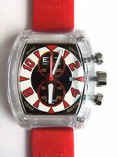 ET ELBA TEAM LOCMAN STOP WATCH ET370 BLACK/RED/WHITE, NW0T, BOXED,  $350