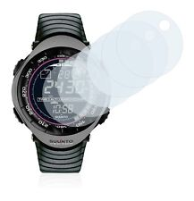 Suunto Vector Charcoal  Smart Watch, 6x Transparent ULTRA Clear Screen Protector