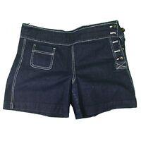 Lauren Jeans Co. by Ralph Lauren Women's Blue Denim Shorts Size 12p