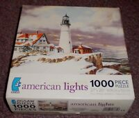 American Lights Puzzle by Ceaco 1000pc Portland Head NEW