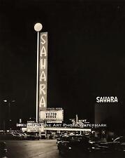 SAHARA HOTEL CASINO LAS VEGAS VINTAGE PHOTO GAMBLING MOB 8x10 #21711