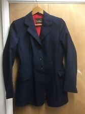 "Caldene Horse Riding Competion Blue Jacket 34/36"" Small"