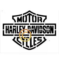harley davidson Stencil A3