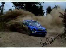 Tommi Makinen Subaru Impreza S7 WRC Rally Argentina 2002 Signed Photograph