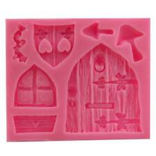 Silicone 3D Fairy Home Kitchen House Door Cake Mold Chocolate Mould Baking mould