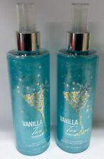 2 Vanillatini Shimmer Mist Bath & Body Works 8 Fl Oz