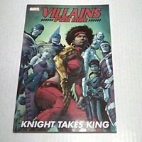 Villains for Hire Knight Takes King TPB #1(Marvel)2012 -1st prnt - VF/NM to NM-