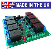 IACS 8 Channel 10A Relay Board 10 Amp 250V SPDT AVR PIC TTL ARM 8CH Reliable