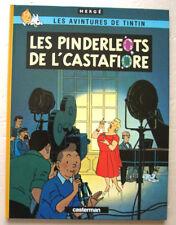 Tintin Les Pinderleots de l'Castafiore HERGE éd Casterman 1980