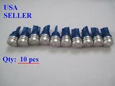10 pcs T10 168 194 W5W High Power 1W  blue LED Bulbs