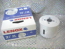 "Hole Saw, LENOX, 2-1/2"" or 64 mm Part# 40L"