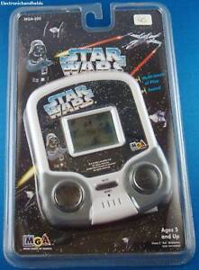 STAR WARS ELECTRONIC HANDHELD MOVIE VIDEO LCD GAME DARTH VADER CRUISER ARCADE