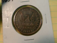 Hard Times Token  May 10th 1837 Shinplaster