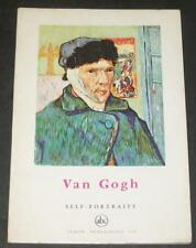 Van Gogh Self-Portraits Petite Encyclopédie de L'Art #53 Color Plates Straw Hat