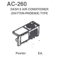 Details West AC-260 - Dash 9 Air Conditioner (Dayton-Phoenix) Type - HO Scale