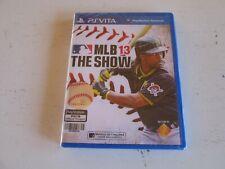 MLB 13: The Show (Sony PS Vita). Asian English Version. Brand New. Mint.