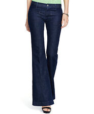 NEW Polo Ralph Lauren Malissa Womens 31 High-Rise Flared Indigo Wash Jeans NWT