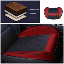 Linen Seat Covers Single Front Car Seats Protector Auto Cushion For Four Seasons