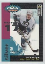 1995 Collector's Choice Crash the Game Redemption Silver Paul Kariya (March 17)