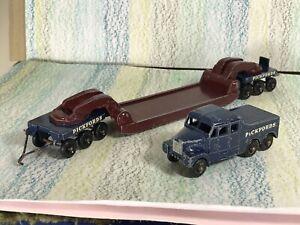 Matchbox Lesney Major Pack # 6 Scammel 6x6 + Pickfords Crane Transporter G no bx