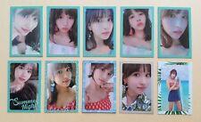 Twice summer nights ntna 2nd album OFFICIAL photocard -  Mina Set