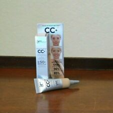 It Cosmetics CC+ Color Correcting Full Coverage Cream MEDIUM 0.135 oz/4 ml mini