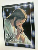 Novena Que Rezar Cuando Estoy Enfermo Spanish Book of Prayers