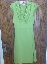 Karen Millen Lime Green Dress UK Size 6