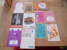 More details for 11 x theatre programmes/playbills mixed 1950/60s & 1984 to clear *as pictures*