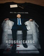 HOUSE OF CARDS T-Shirt 3XL BIG AND TALL 3XLT NEW