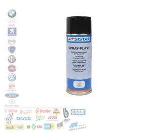 SPRAY PLAST NERO VERNICE TEXTURIZZATA PLASTICHE EFFETTO BUCCIATO 400 ML 306.0152