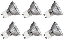 GU10 Halogen Bulbs 50w Watt Ceiling Down Light Spotlight Spot Light Bulbs x 6