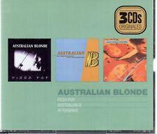 AUSTRALIAN BLONDE - Pizza Pop / Australian B / Aftershave, 3XCD SPAIN 2005