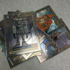 1999 Upper Deck Bandai Digimon Trading Card Ultimate Digimon Chase Holo Foil