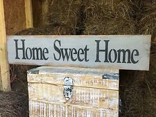 """Large Rustic Wood Sign - """"Home Sweet Home"""" - Fixer Upper, HGTV, Large"""
