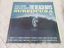 The Beach Boys Surfin' USA Music LP Record USA Press